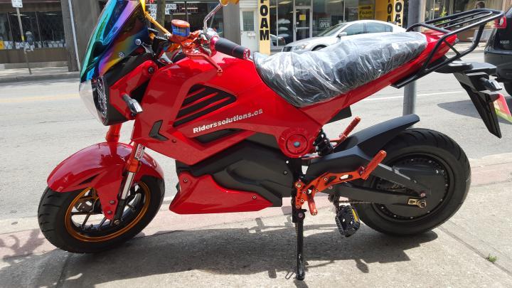 Ninja 72 Volt Electric Bike Riders Solutions Hamilton